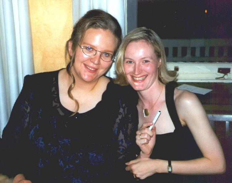 Beate und Ingrid